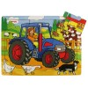 9 pc Tractor Puzzle